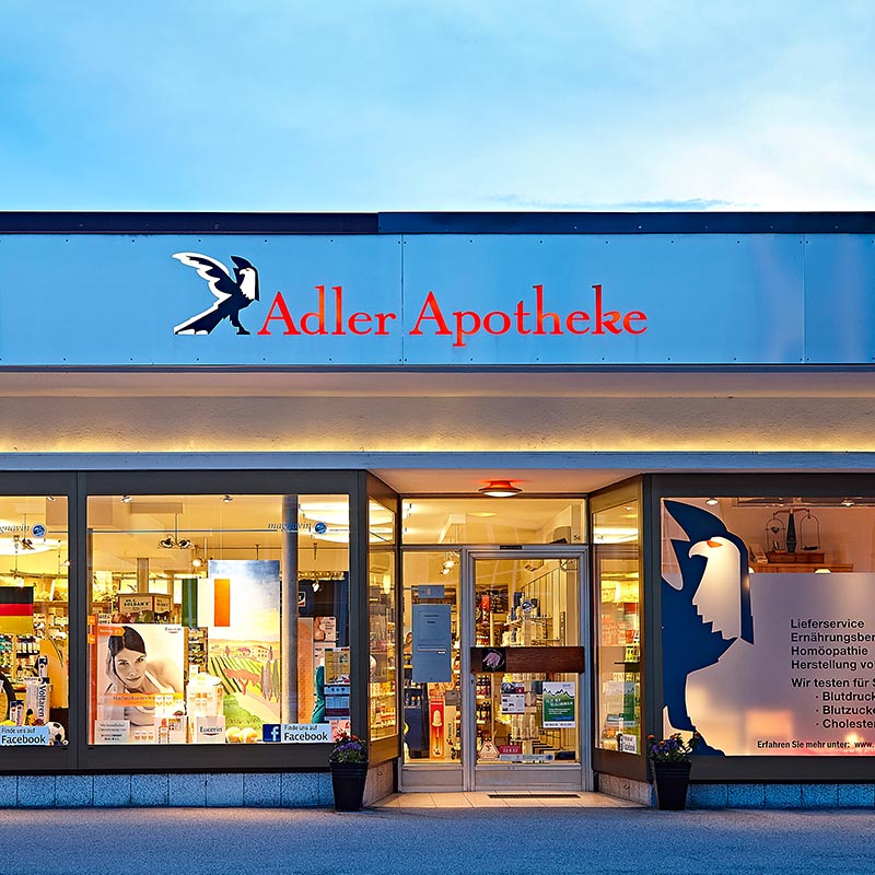 Adler apotheke central home for Lieferservice sonthofen